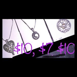 Necklaces all NWT